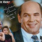 """Mein unterschriebenes Bild von Mitch Pileggi in """"Knight Rider 2000"""""""