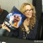 Lea Thompson mit meinem Autogrammposter