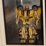 Bumblebee mit Hintergrundbild