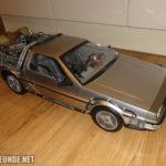 DeLorean mit geschlossenen Türen