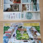 Hill Valley Karte 1955 / Flyer für Lyon Estates