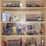 Meine Sammlung im Regal