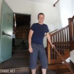 """Die Tür an der Marty nach """"Johnny B. Goode"""" auf seine Eltern trifft"""