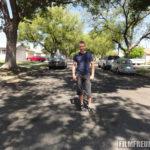Die Straße, in der der DeLorean abhebt