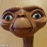 E.T. s Gesicht