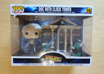 Funko Pop! Doc Brown mit Courthouse