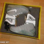 Die Schuhe im Karton