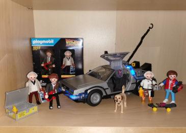 DeLorean Playmobil-Set + Figuren