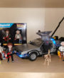 DeLorean Playmobil-Set + Figuren