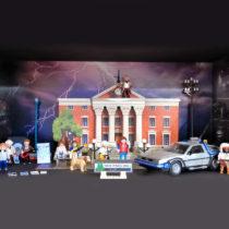 DeLorean Playmobil-Set + Adventskalender + Figuren