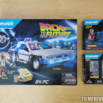DeLorean-Set und 2x Zusatz-Figuren