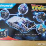 DeLorean-Verpackung Rückseite