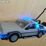 Der DeLorean mit Angelhaken