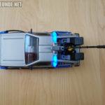 DeLorean von oben