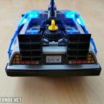 DeLorean von hinten