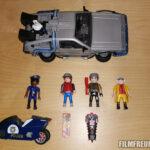 2015er DeLorean mit Figuren