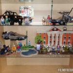 Die Playmobil-Sets in der Vitrine