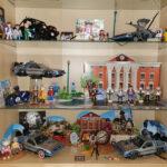 Alle Playmobil-Sets in meiner offenen Vitrine