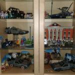Alle Playmobil-Sets in meiner geschlossenen Vitrine