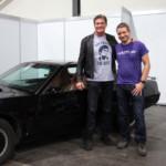 Mit David Hasselhoff und meinem K.I.T.T. bei der GCC 2016