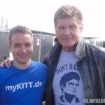 Mit David Hasselhoff am Nürburgring