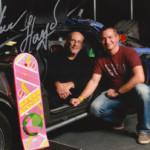 Christopher Lloyd (Doc Brown) mit Autogramm von der German Comic Con 2016