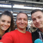 Betty Taube (GNTM) & Aaron Troschke (YouTuber, Promi-BB)
