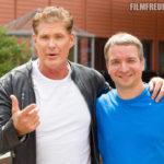 David Hasselhoff und ich beim ZDF-Fernsehgarten 2019