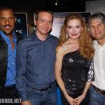 Mit Peter Parros, Rebecca Holden, Michael Scheffe bei der KnightCon 2012