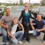 Mit Peter Parros, Michael Scheffe, Rebecca Holden bei der KnightCon 2012