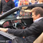 David Hasselhoff in meinem K.I.T.T. beim ZDF Fernsehgarten