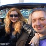 Mit Rebecca Holden an meinem K.I.T.T.