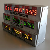 DeLorean Time Circuits – Zeitanzeige – 1:1