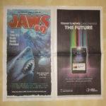 """Werbung für """"Jaws 19"""""""