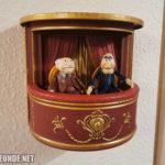 Waldorf & Statler in ihrer Loge