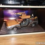 Der DeLorean im Schrank