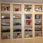 Meine Fanartikel-Sammlung heute im Essbereich